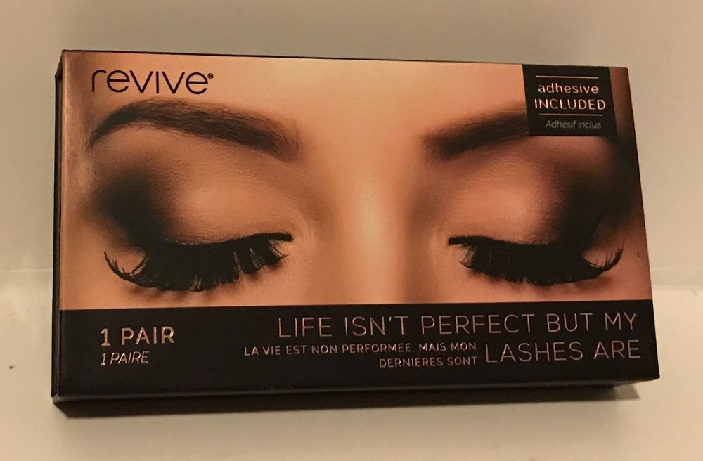 3f0dfd77dfa Revive False Eyelashes Life isn't Perfect But My Lashes Are Adhesive  Included | eBay