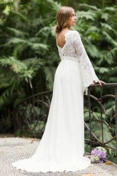 Vestidos de novia boho chic malaga