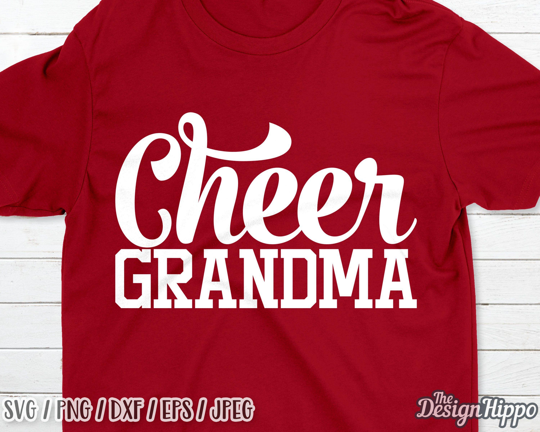 Cheer grandma svg, Cheer svg, Grandma svg, Football