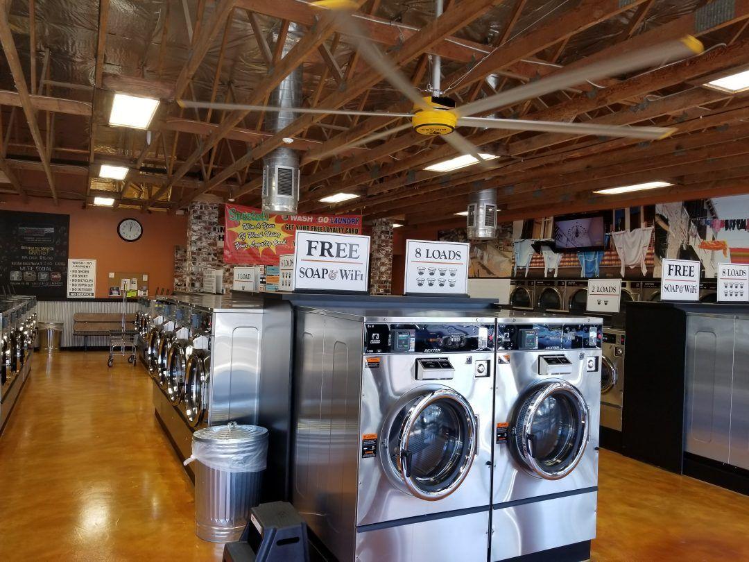 Beautiful Interior Of Wash N Go Laundromat National City Ca
