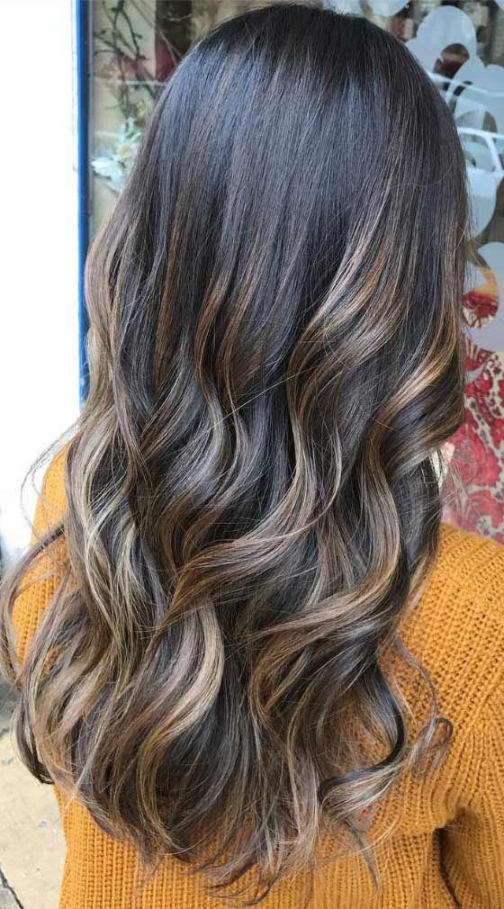 30 Chic Highlight Ideas For Your Brown Hair Brown Hair Dying
