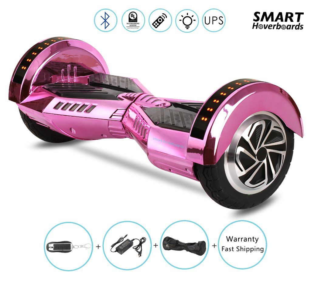 8 lambo performance chrome gold hoverboard with bluetooth