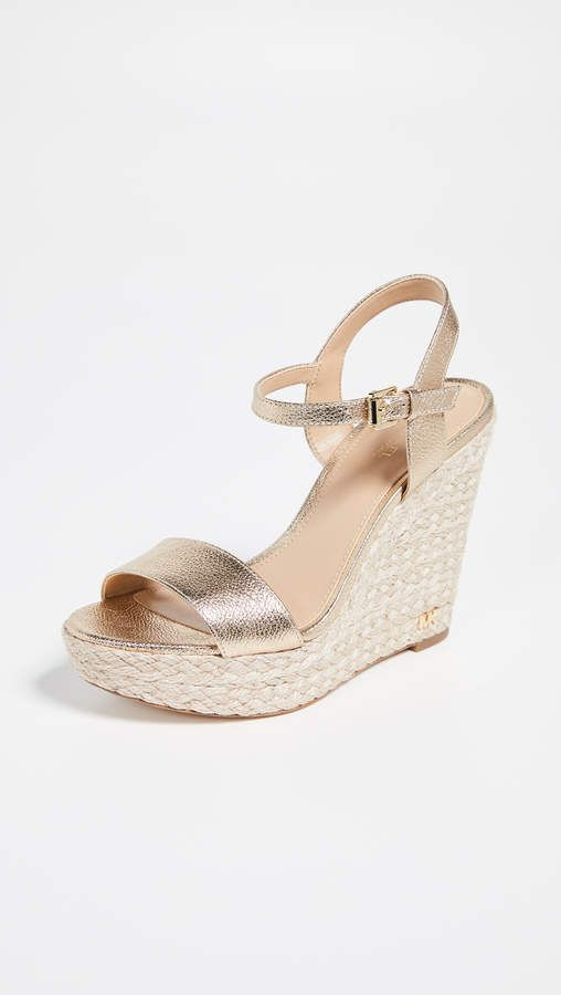 0d34adb1ad6 Jill Wedge Espadrilles in 2019 | Products | Gold espadrille wedges ...