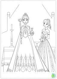 Explore Frozen Coloring Pages Book And More