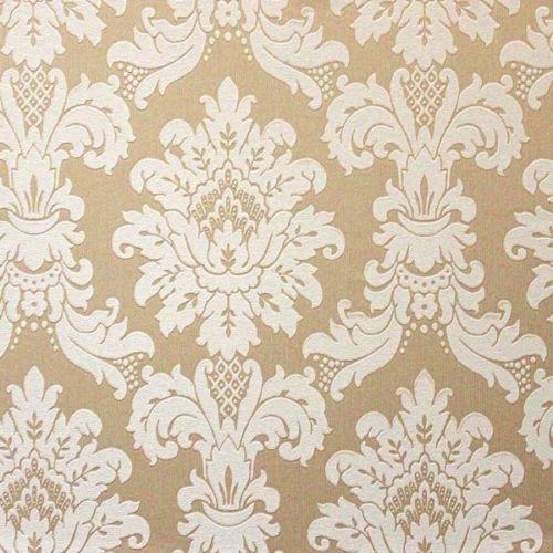 New Luxury Arthouse Messina Damask Heavyweight Vinyl Textured Wallpaper Roll