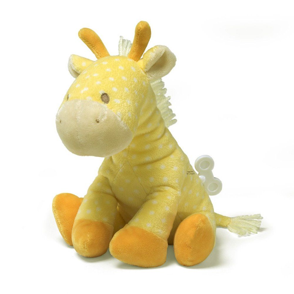 "Amazon.com: Gund Lolly Musical Giraffe Waggie Keywind 8"" Plush: Toys & Games $22.00"