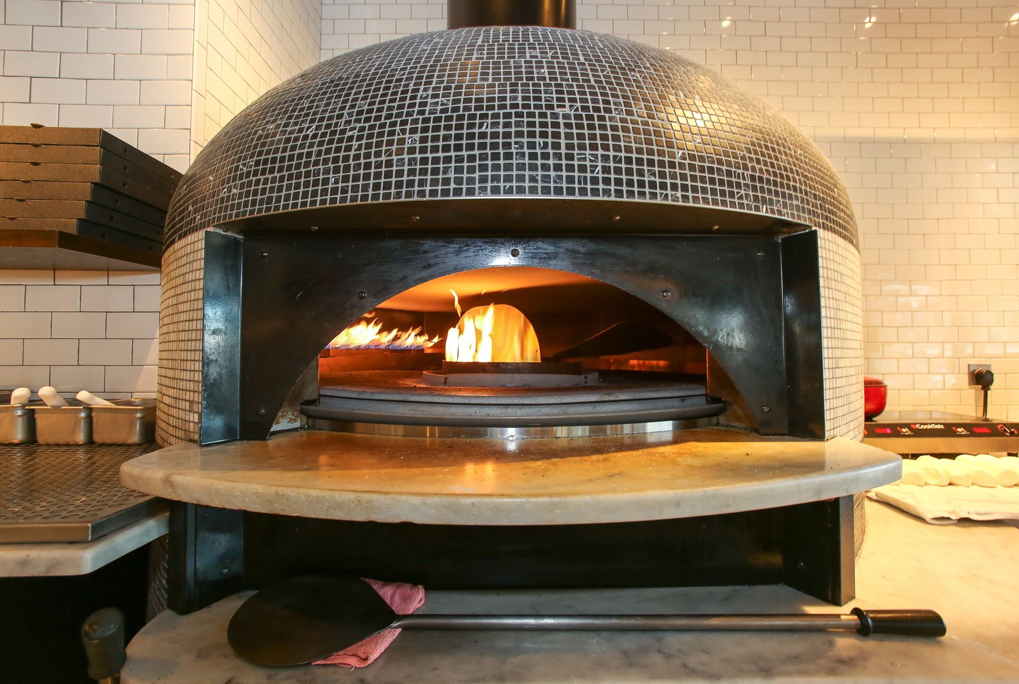 Indoor Pizza Oven Gas Bread Wood Fired