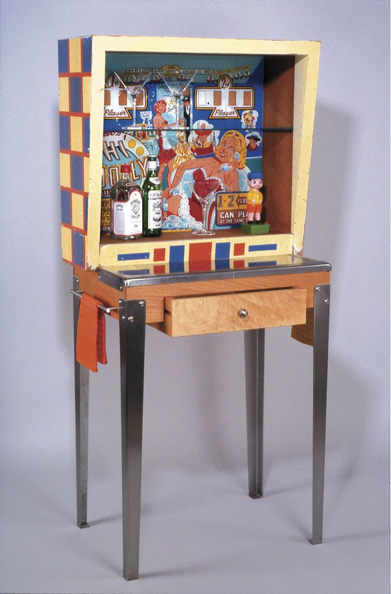 silverball re purposed vintage pinball machines as furniture and