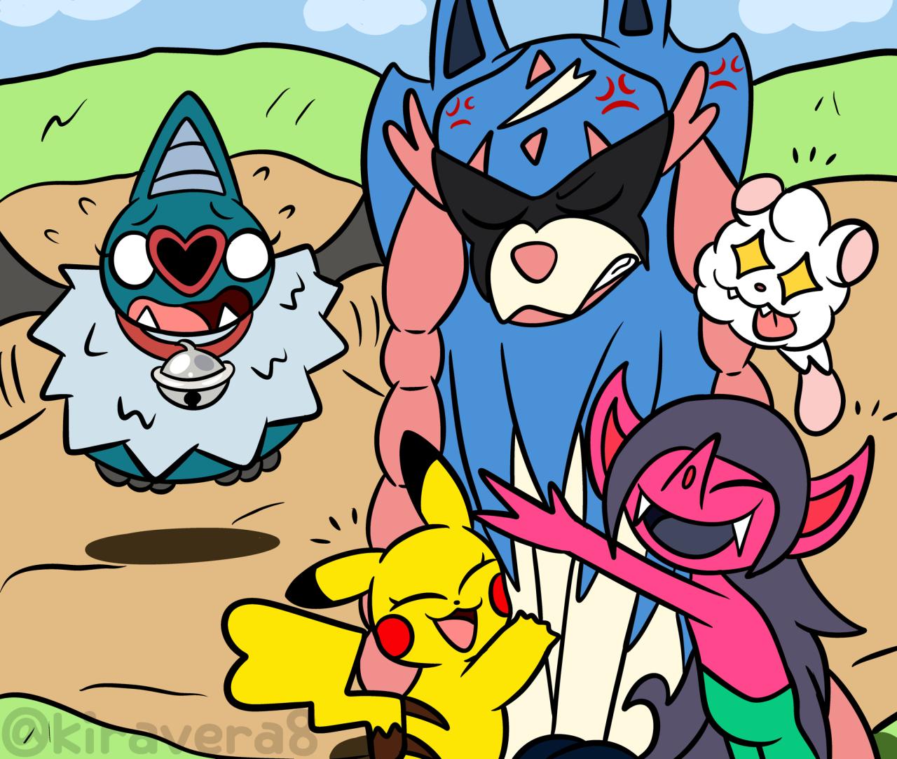 Kira Kira In 2020 Cute Pokemon Tag Art Pokemon