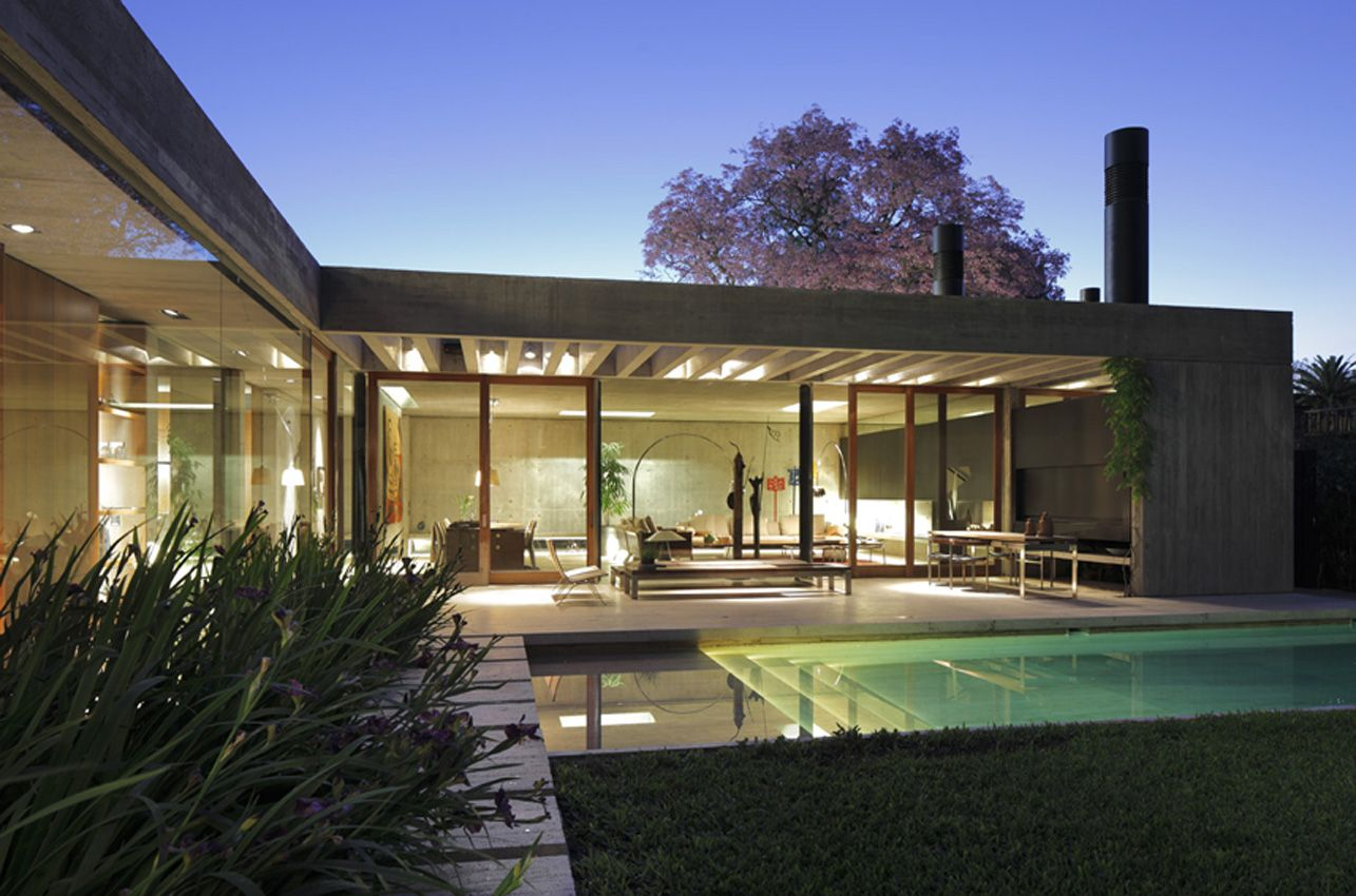Con edgardo minond casa l buenos aires architecture for Casa moderna l