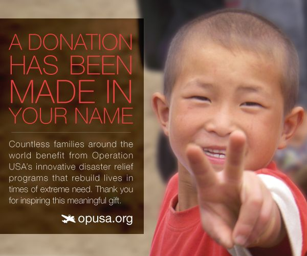 Send cheer with our e-cards to make a #donation in the name of #riends or relatives—and support our lifesaving work. #ngo #nonprofit #causes #sm4sg #sm4np #fundraising