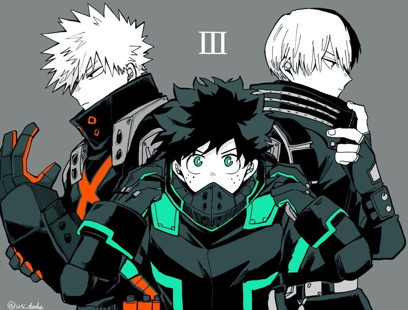 Photo of | Save & Follow | Midoriya Izuku • Deku • Bakugou Katsuki • Shoto Todoroki • My Hero Academia