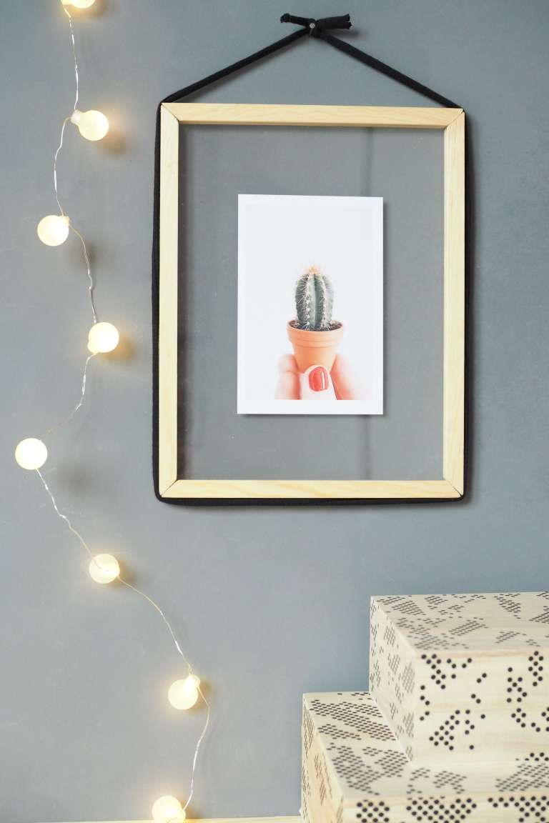 DIY-Design Bilderrahmen zum Befüllen | Wall art | Pinterest ...