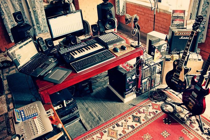 Outstanding Home Music Studio Pesquisa Google Musica Pinterest Studios Largest Home Design Picture Inspirations Pitcheantrous