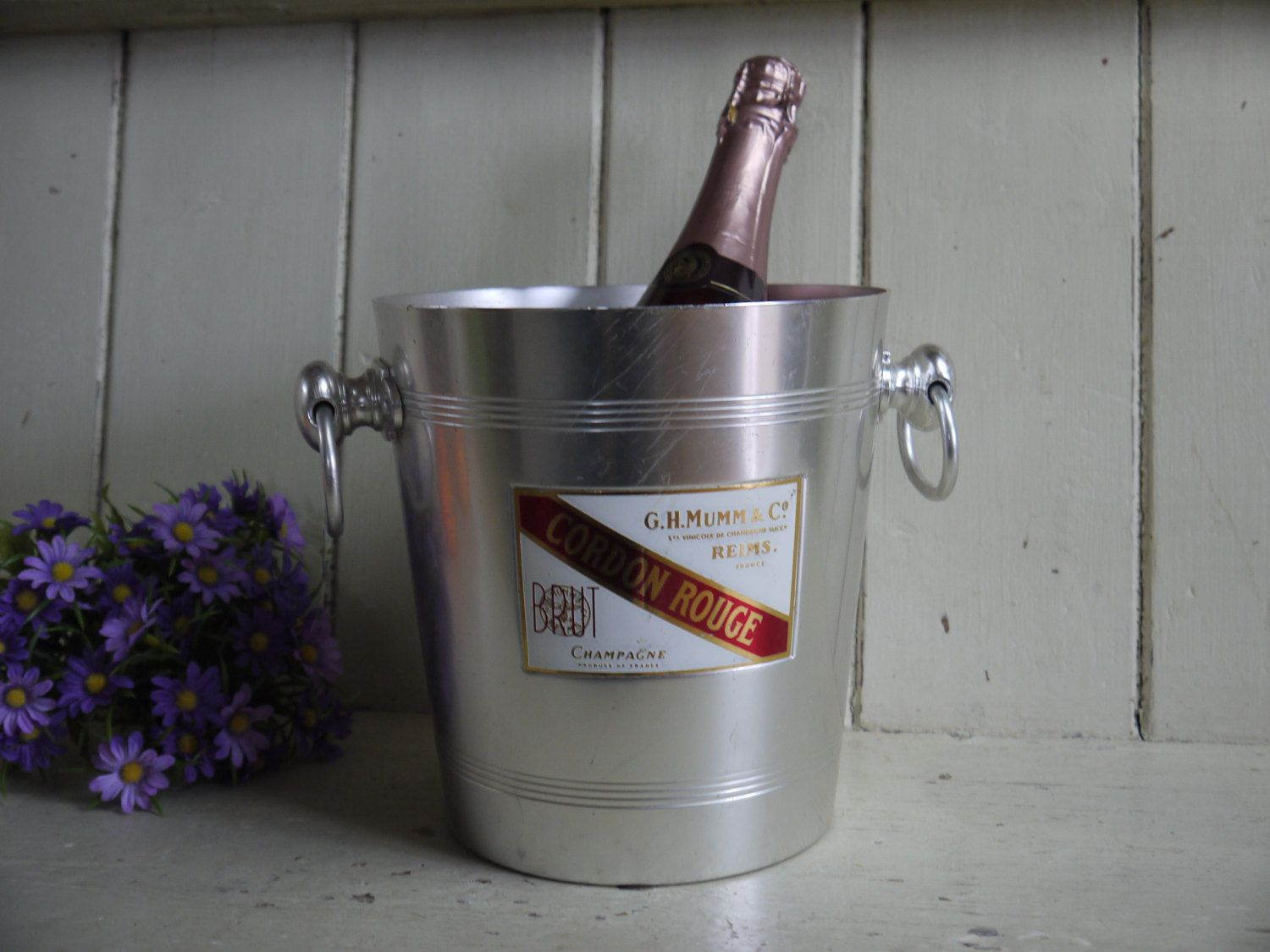 French Vintage Champagne Bucket - Mumm by VintiqueTree on ...
