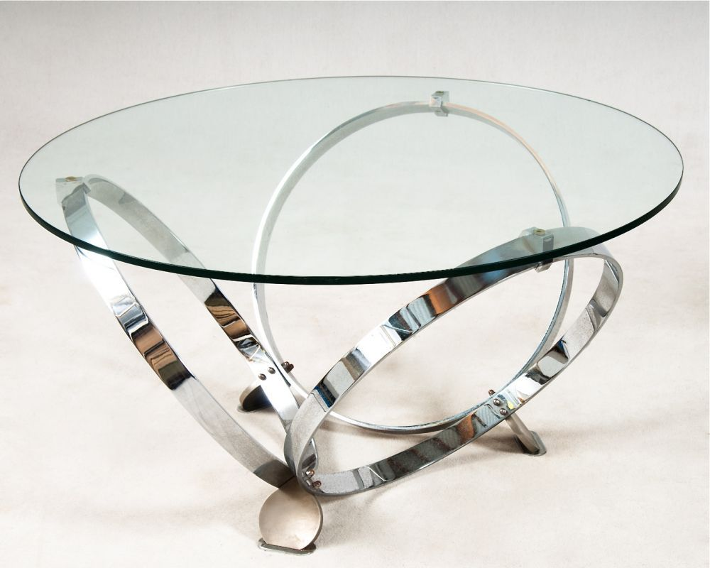 Modern Round Glass Coffee Table httpwwwbabymusictogocom