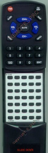 PANASONIC Replacement Remote Control for CTH1942R, CTH1949R, CTJ1350R, CTJ1355R by Redi-Remote. $29.95. This is a custom built replacement remote made by Redi Remote for the PANASONIC remote control number EUR50349.  This remote control is compatible with the following models of PANASONIC units:   CTH1942R, CTH1949R, CTJ1350R, CTJ1355R, CTJ1941R, CTJ1942R, CTJ2042R, CTJ2042R1, CTJ2551R, CTJ2557R, CTK1351R, CTK1942R, CTK2042R, CTL1360R, EUR50349