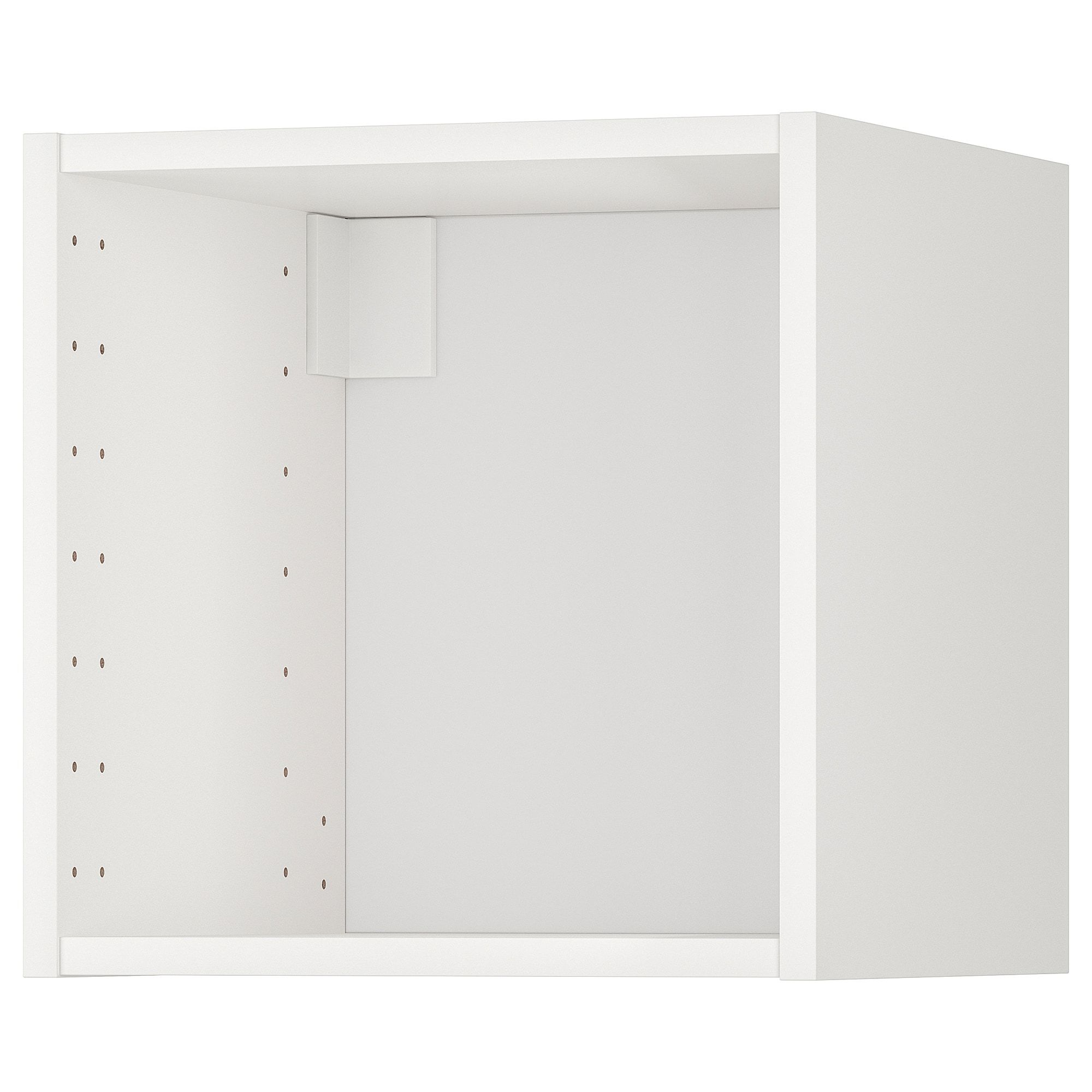 Metod Structure Element Mural Blanc 40x37x40 Cm Ikea En 2020 Armoire Murale Ikea Rangement Mural