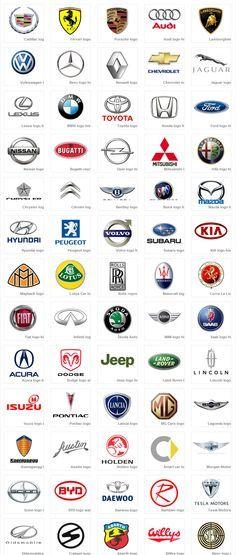 Car Logos inspiration for logo design. car based, not driving ...
