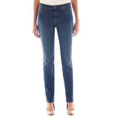 c72a60a59e9 St. John s Bay® Secretly Slender Straight-Leg Jeans found at  JCPenney