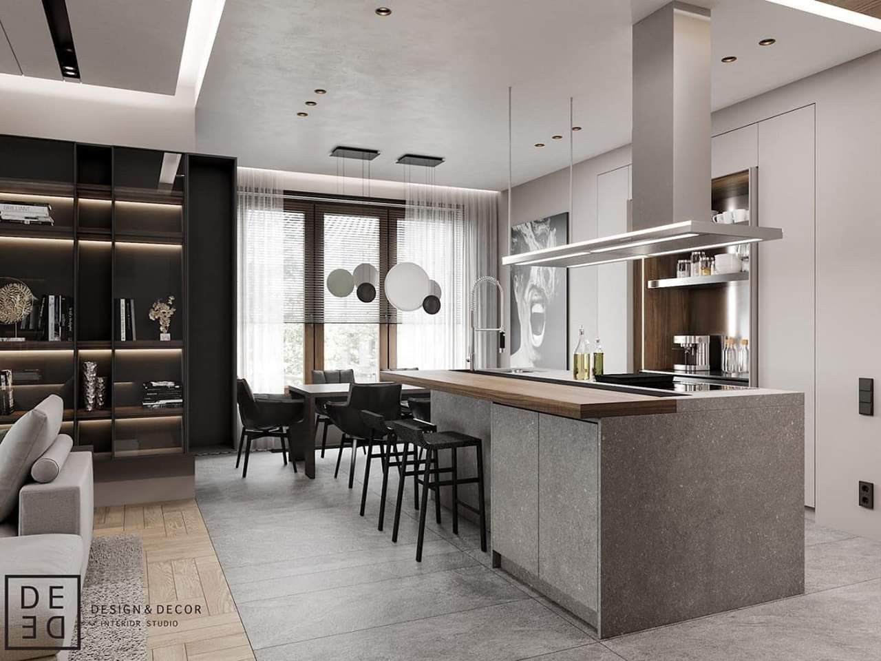 Modern Interior Design By De De Studio Www Wohnideen News Traumkuche Kuchen Ideen Modern
