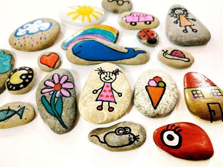Story Stones  Erzählsteine selber machen mit Anleitung und Bildern Story Stones  Erzählsteine selber machen mit Anleitung und Bildern
