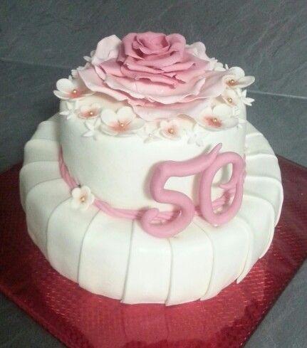 Torte Zum 50 Geburtstag Meine Arbeit Birthday Cake Birthday