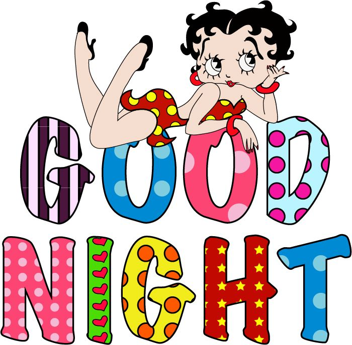 Goodnight Rack Betty Boop Quotes Black Betty Boop Betty Boop