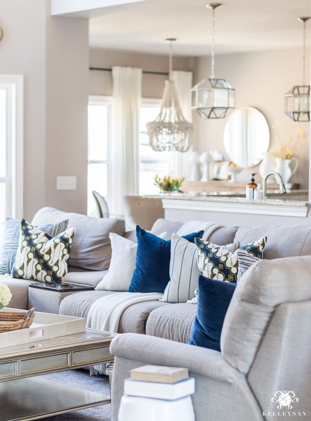 2018 spring home tour decorating ideas for every room in on best living room colors 2021 id=60351