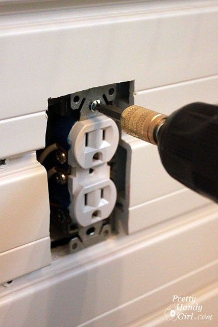 How to Add an Outlet Extender | Mobile home remodel | Home repairs