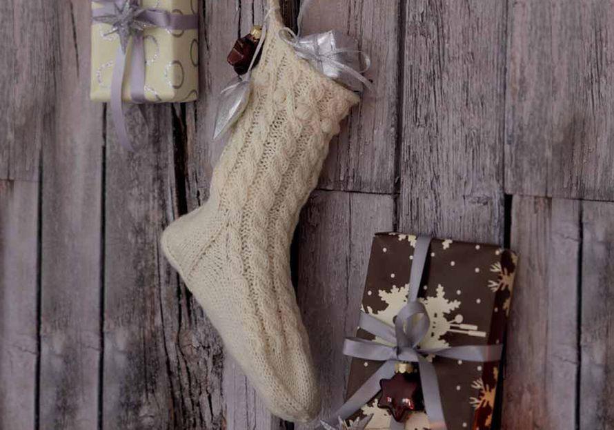 Neulottu joulusukka | Kodin Kuvalehti