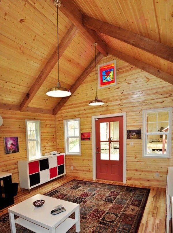 14 14 Studio Cottage By Kanga Tiny House Listings Tiny Houses For Sale Shed Tiny House