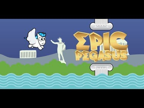 Epic Pegasus awesome FREE flappy style game for Android