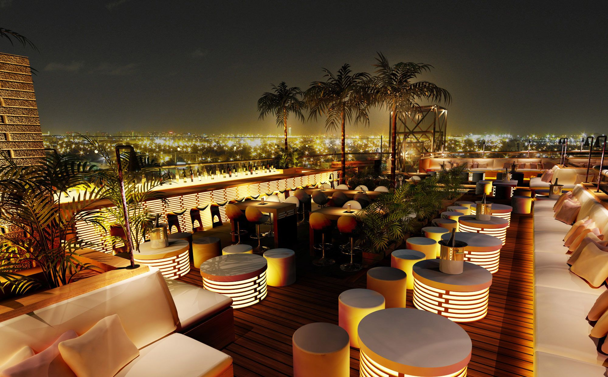 40kong Dubai Nightlife Treps Launch Newest Rooftop Venture Viagens
