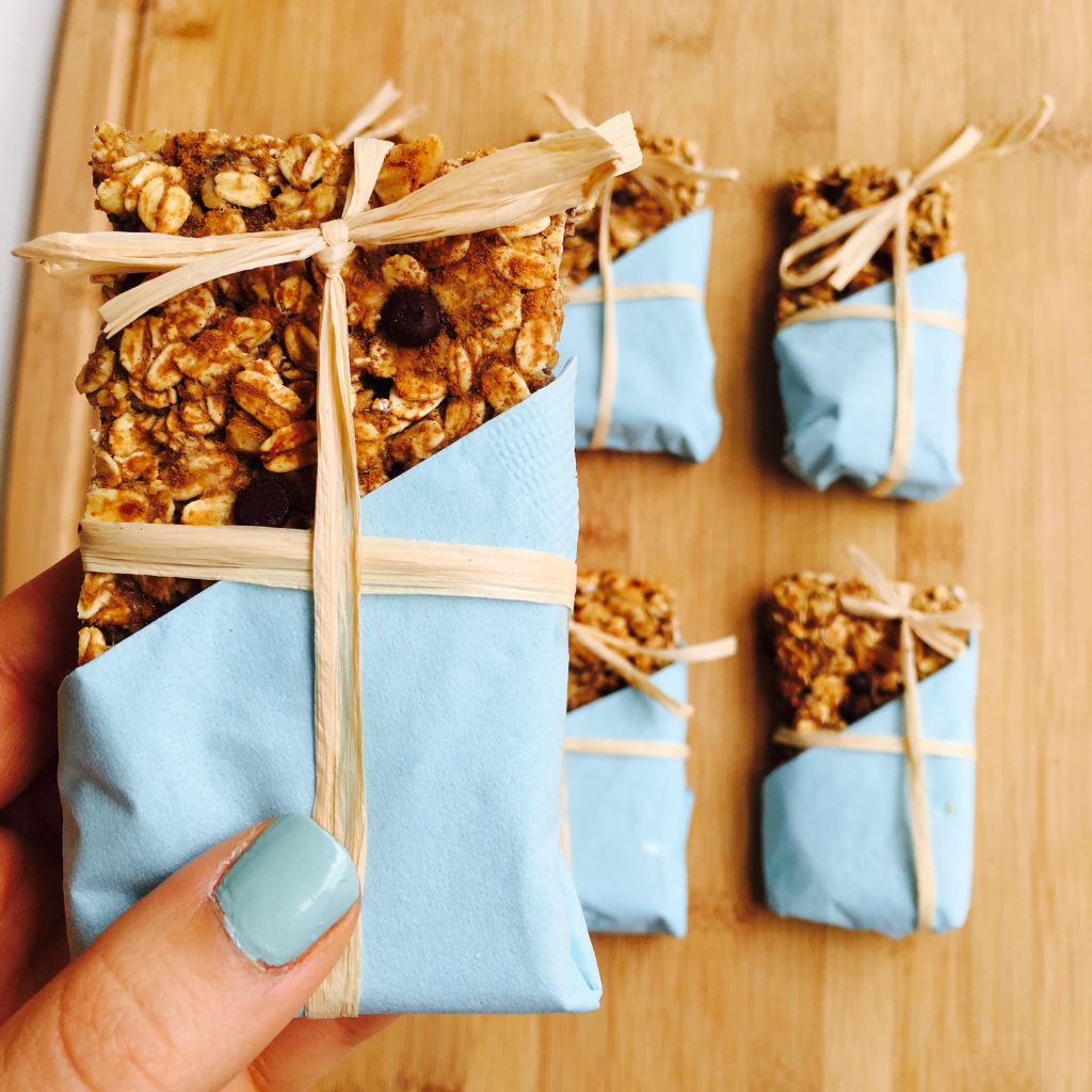 Banana Nut Protein Bars are perfect to travel with!