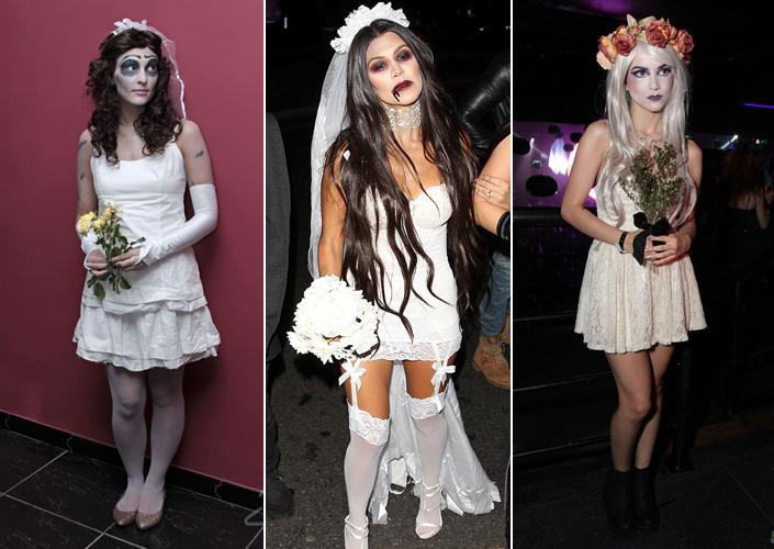 Fantasia Halloween Noiva Cadáver Fantasias femininas