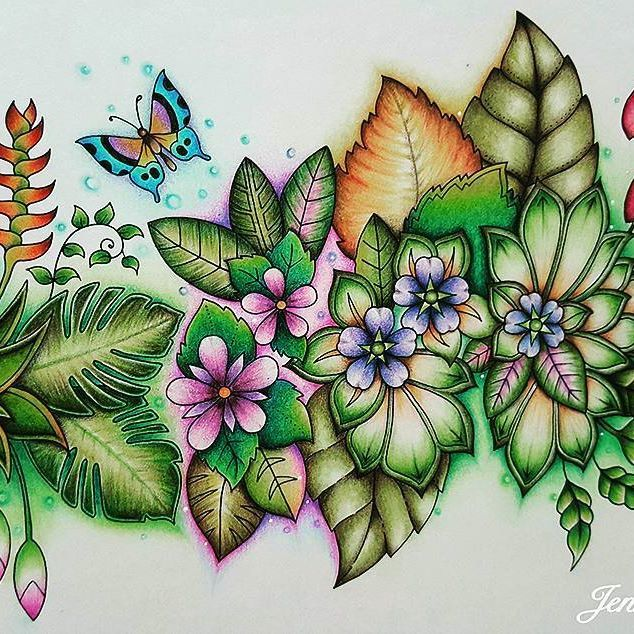 pin by rebecca gerhard on coloring techniques pinterest johanna basford coloring books and adult coloring - Magical Garden Coloring Book