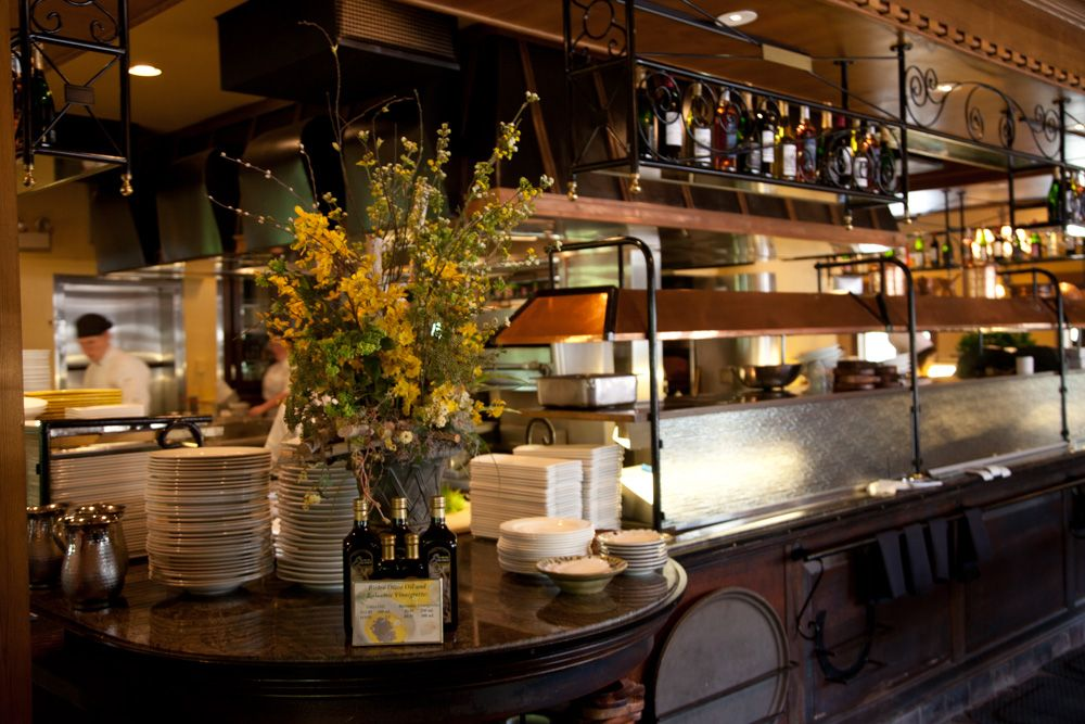 Bistro restaurant when visiting the biltmore estate there