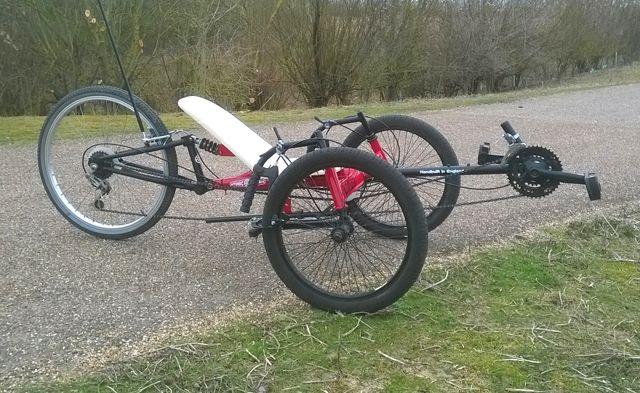 Locust Diy Tadpole Trike 1 Trike Recumbent Bicycle Reverse Trike