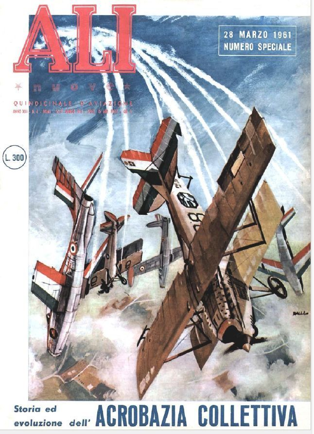 FRECCE TRICOLORI PAN Ali Numero Speciale Pattuglia Acrobatica 28-03-1961 - DVD | eBay