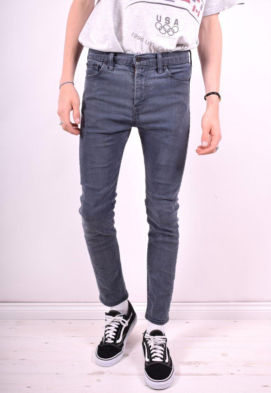 2ecbb097 Levi's 510 Mens Vintage Jeans W30 L32 Grey 90's | Messina Hembry Clothing |  ASOS Marketplace