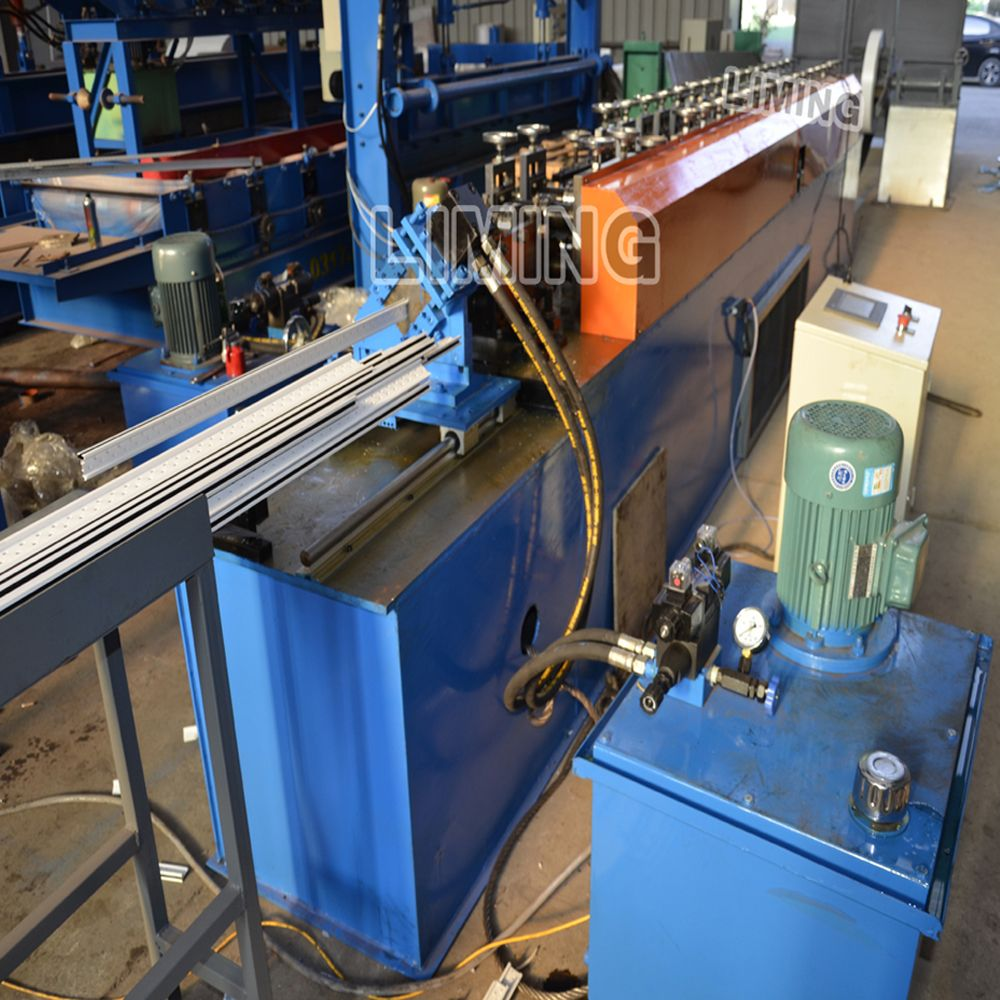 Pin on t bar ceiling keel roll forming machine