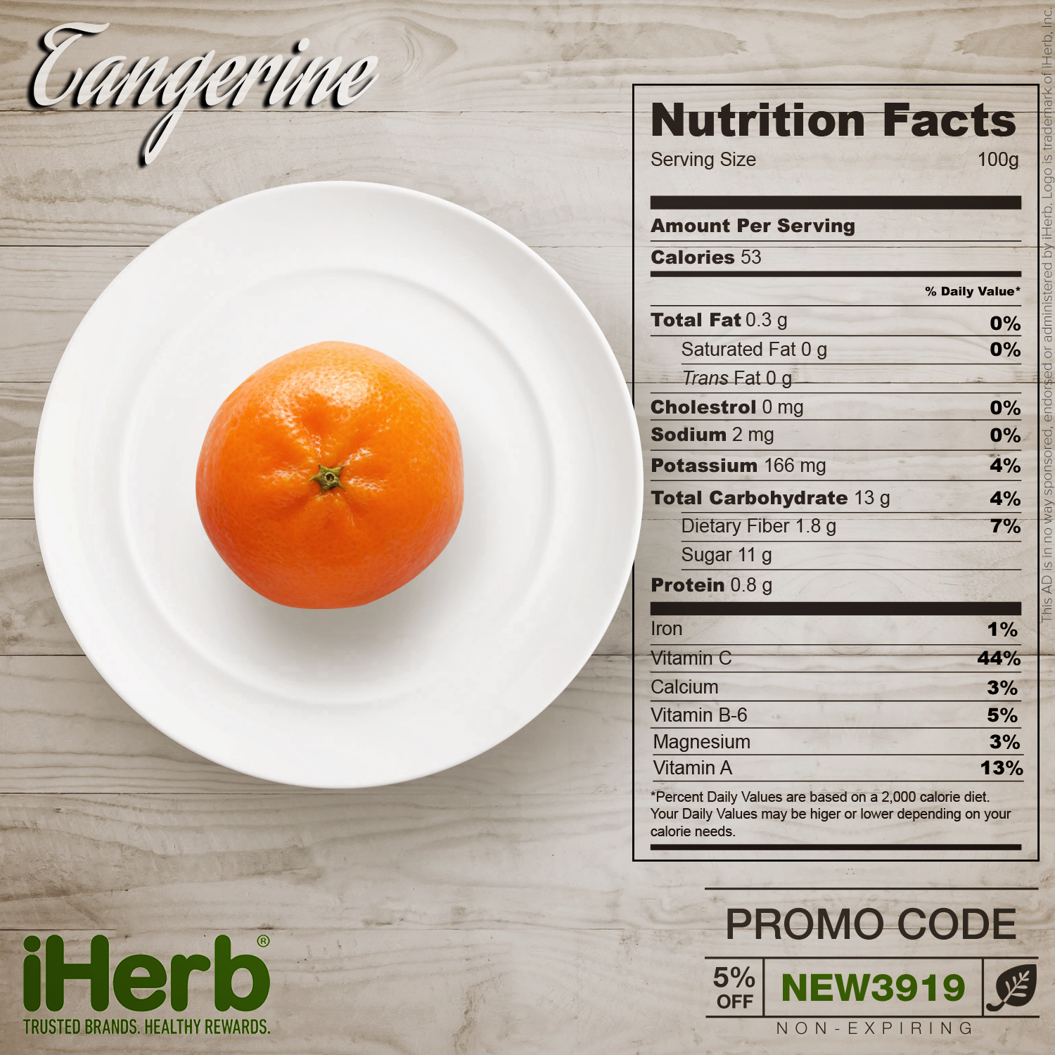 Tangerine Nutrition Facts Fill The Gaps In Your Nutrition Iherb Iherbcode Healthcare Bodybuilding Tangerine Nutrition Facts Nutrition Facts Nutrition