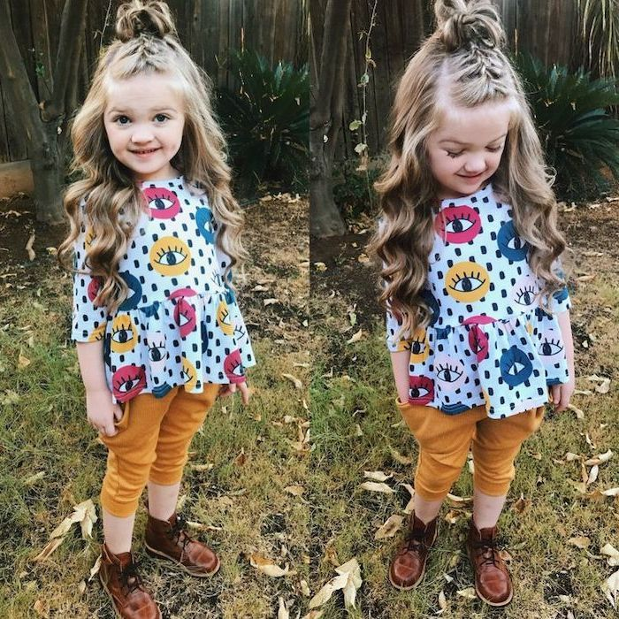 ▷ 1001 + ideas for beautiful and easy little girl hairstyles #girlhair