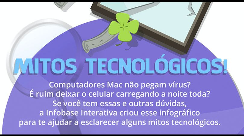 Infográfico Mitos da Tecnologia