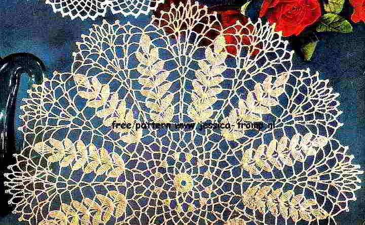 Ripe Wheat Doily free pattern | Crochet Doilies | Pinterest