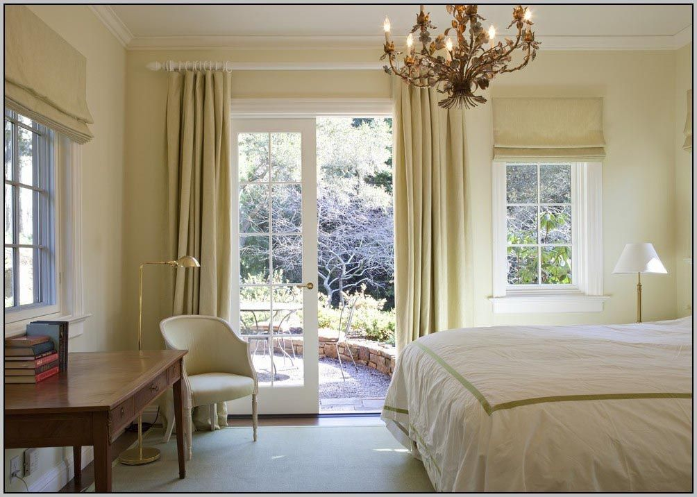 What Size Curtain Rod For Sliding Glass Door French Doors Interior Bedroom Interior French Door Curtains Curtain size for standard patio doors