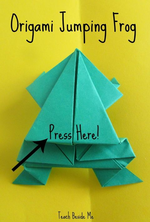 Leap Frog Math Game & Origami Jumping Frog