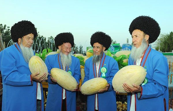 Turkmenistans Annual Melon Day What You Need To Know  Lazer Horse