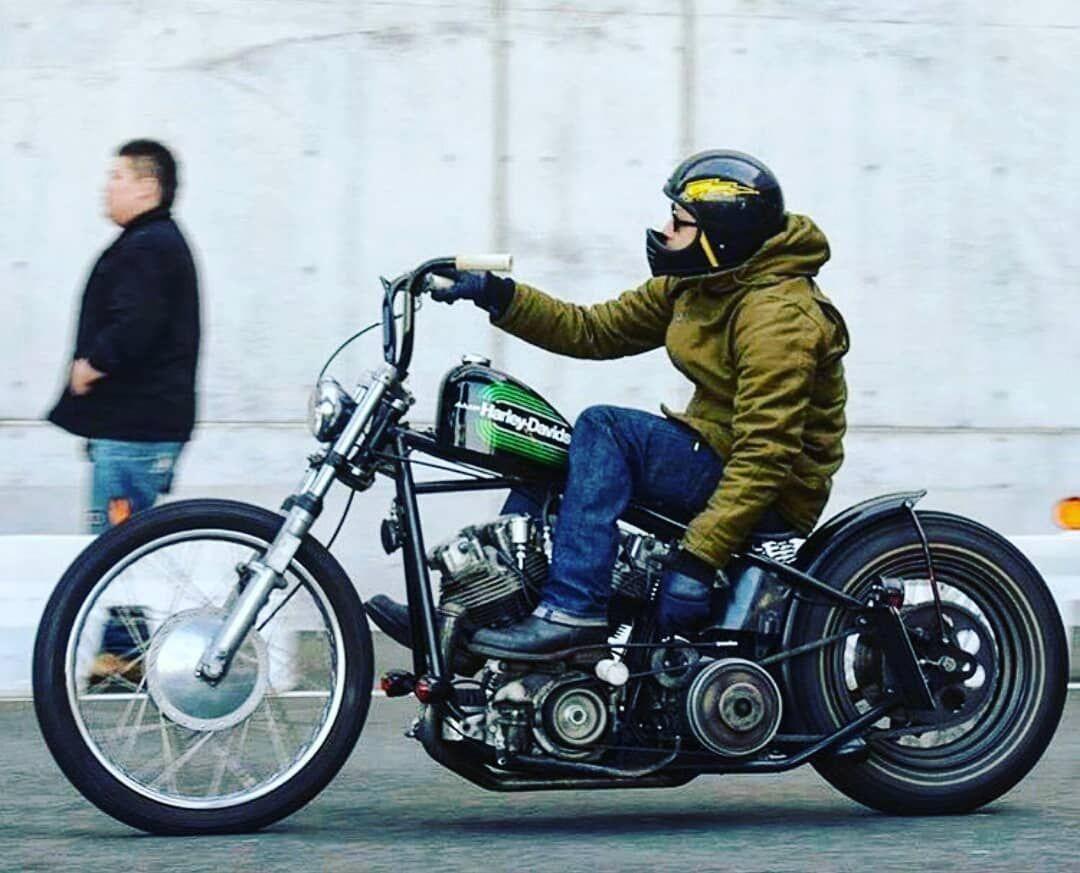 Jose E M On Instagram Japan Chopper Chopperlife Streetchopper Bikersfamily Harleydavidsonchoppers Harley Davidson Bikes Bobber Bobber Bikes [ 873 x 1080 Pixel ]